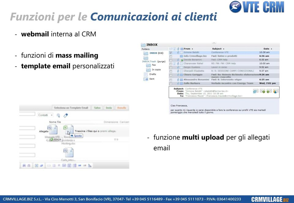 mailing - template email personalizzati -