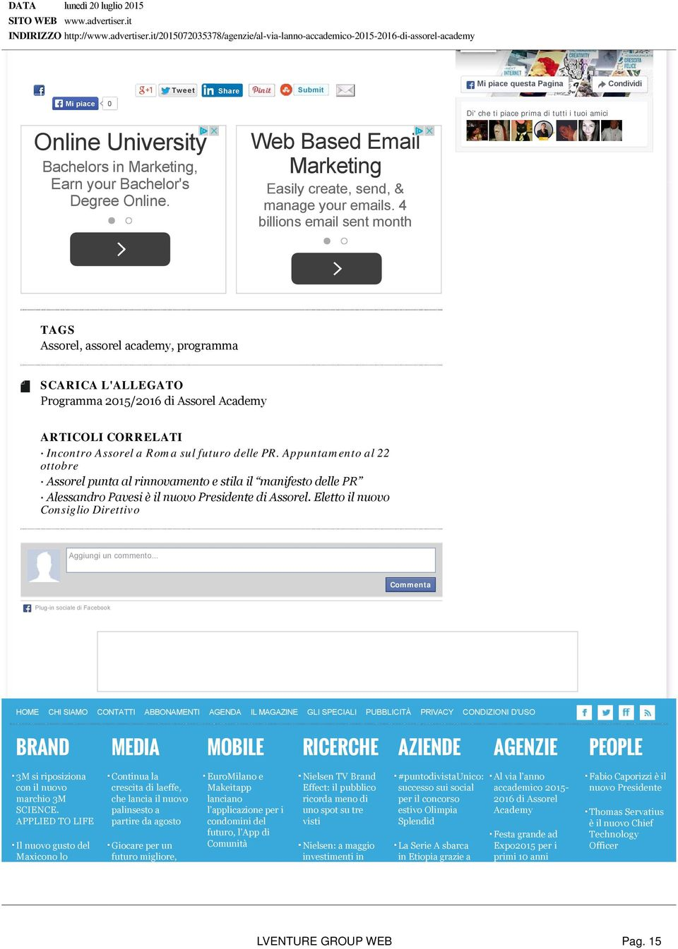 Degree Online. Web Based Email Marketing Easily create, send, & manage your emails.