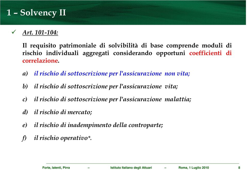 coefficienti di correlazione.