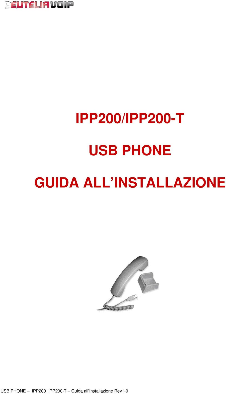 USB PHONE IPP200_IPP200-T