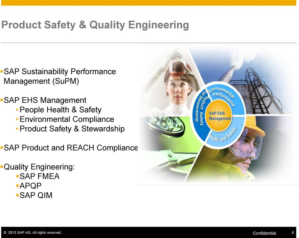 Compliance Product Safety & Stewardship SAP Product and REACH Compliance
