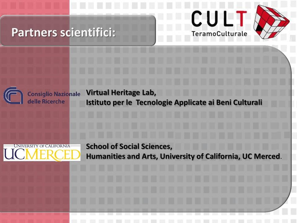 Culturali School of Social Sciences,