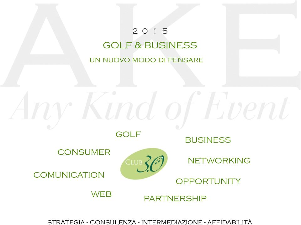 BUSINESS NETWORKING OPPORTUNITY PARTNERSHIP