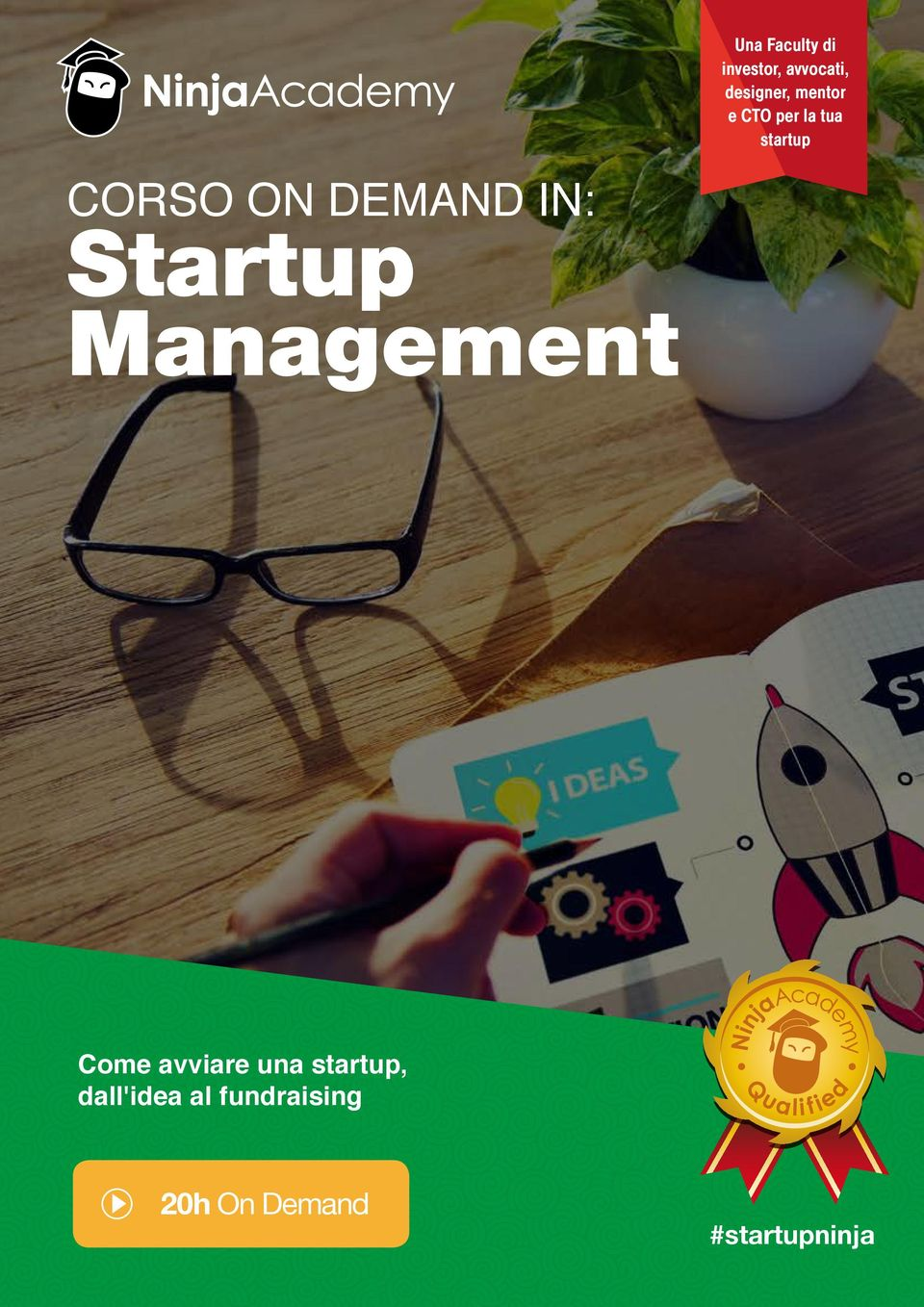 DEMAND IN: Startup Management Come avviare