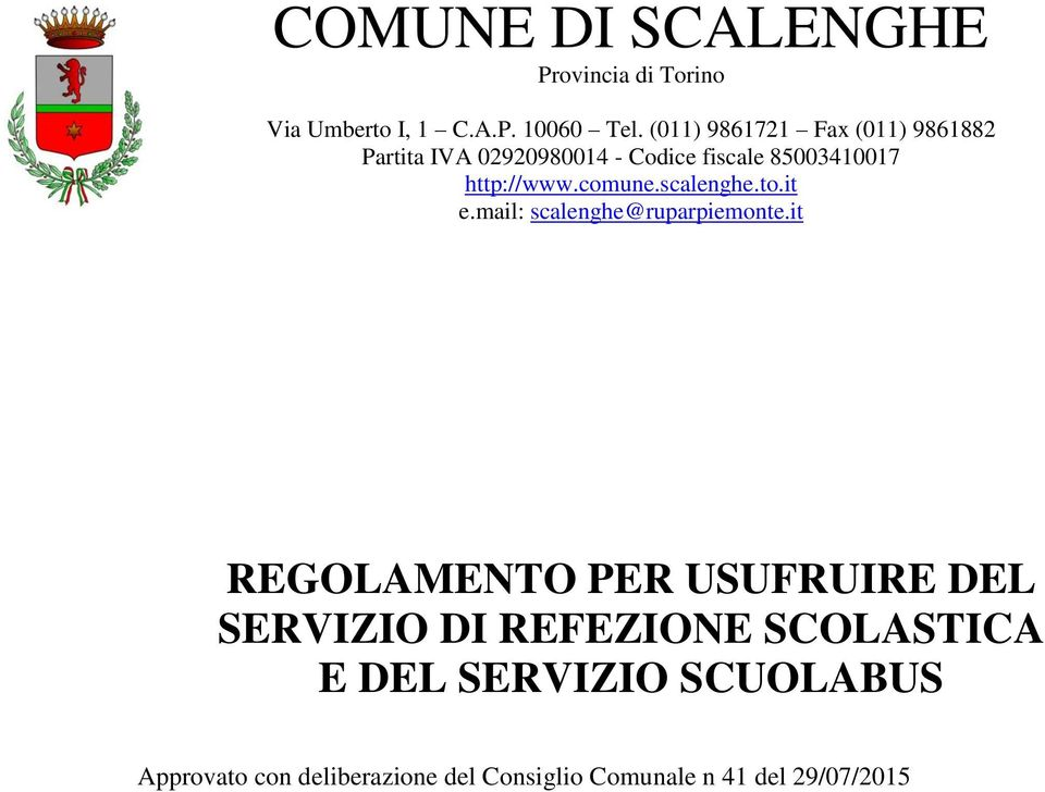 comune.scalenghe.to.it e.mail: scalenghe@ruparpiemonte.