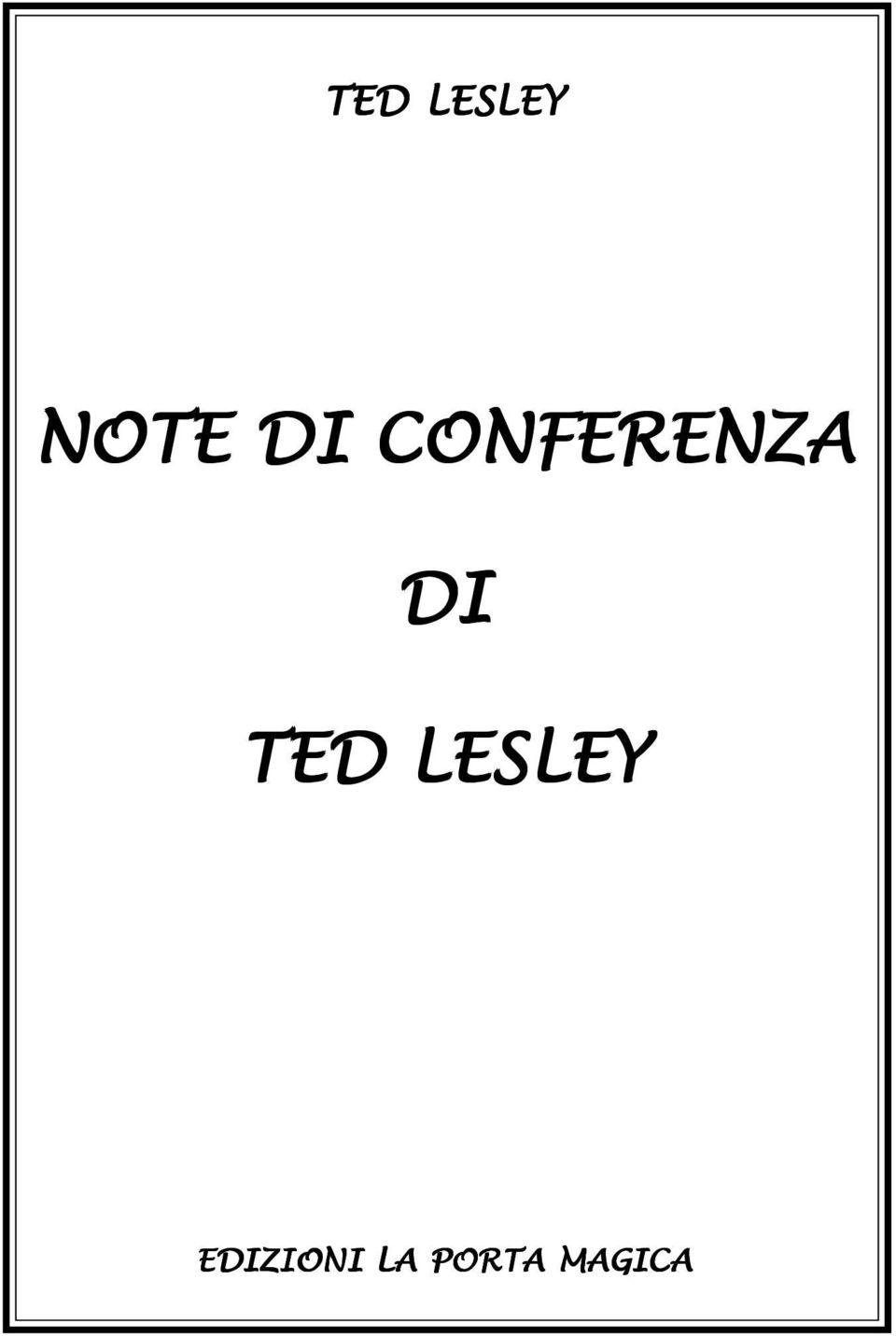 TED LESLEY