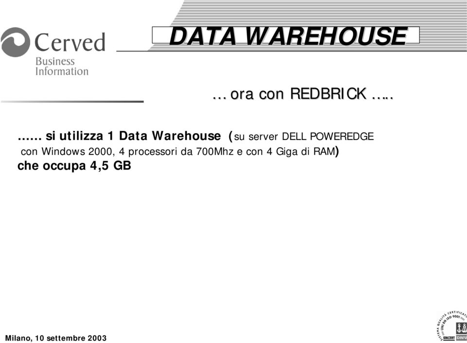 DELL POWEREDGE con Windows 2000, 4
