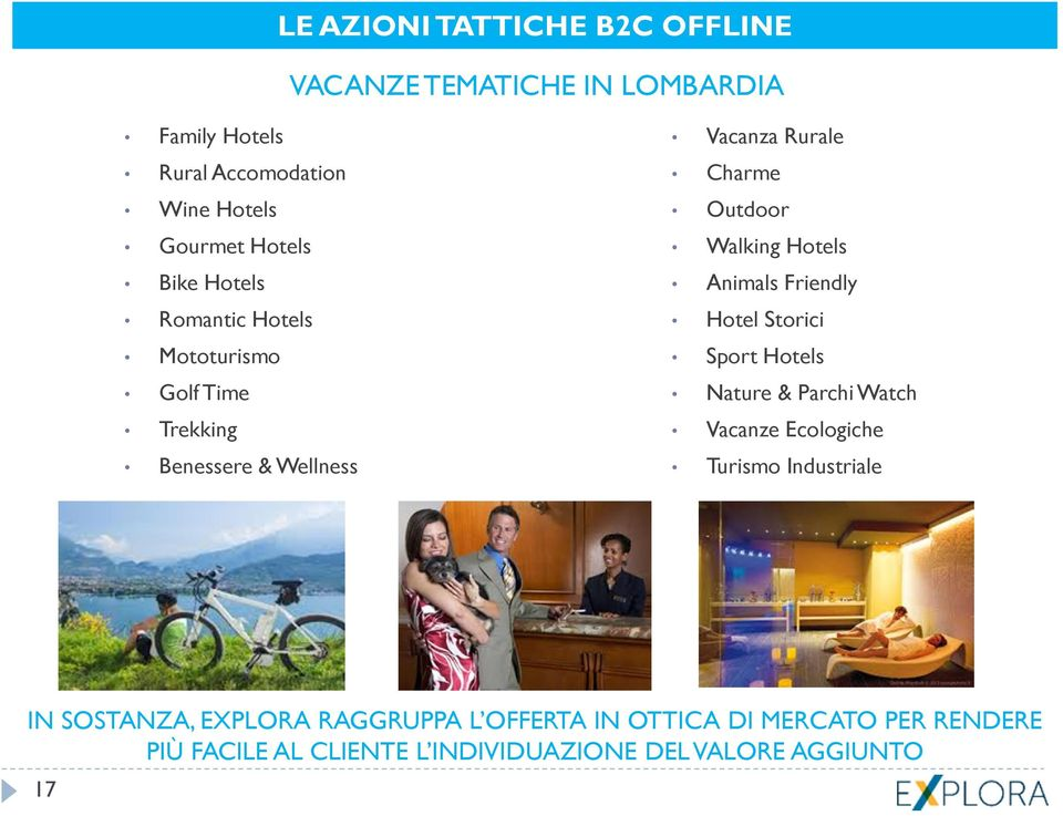 Hotels Animals Friendly Hotel Storici Sport Hotels Nature & Parchi Watch Vacanze Ecologiche Turismo Industriale IN