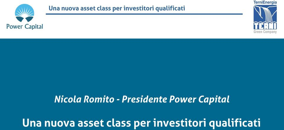 Romito - Presidente Power Capital