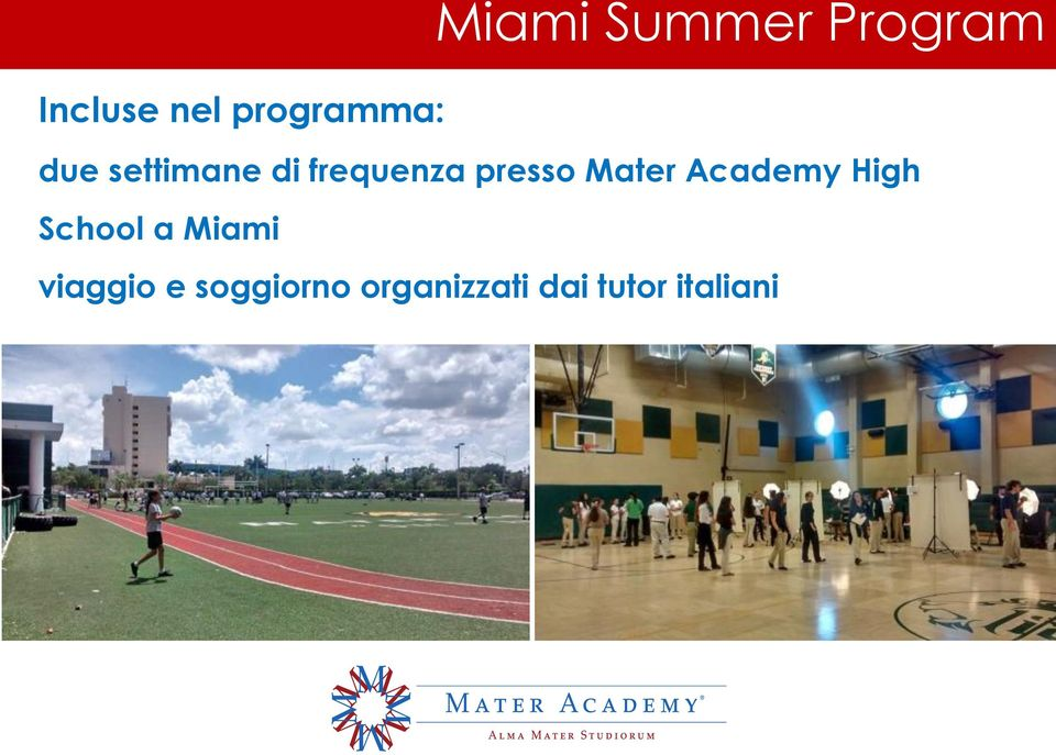 presso Mater Academy High School a Miami