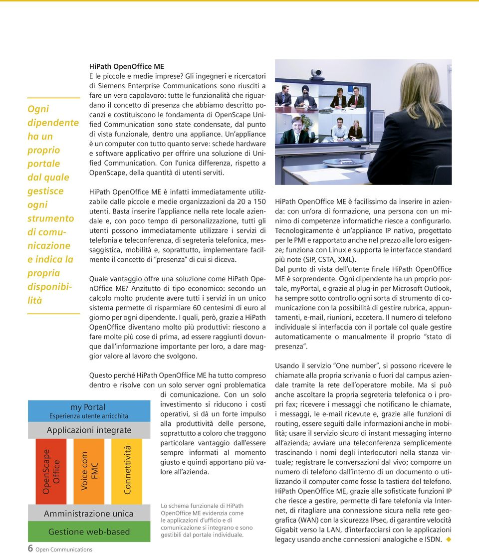 le fondamenta di Unified Communication sono state condensate, dal punto di vista funzionale, dentro una appliance.