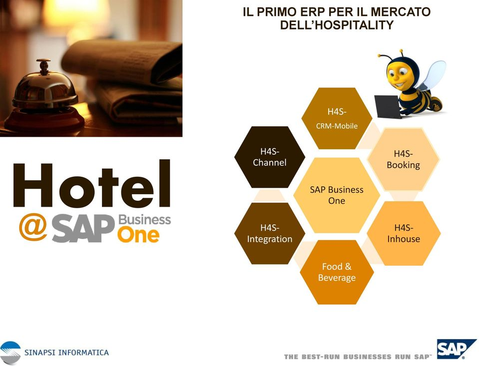 Channel SAP Business One H4S- Booking