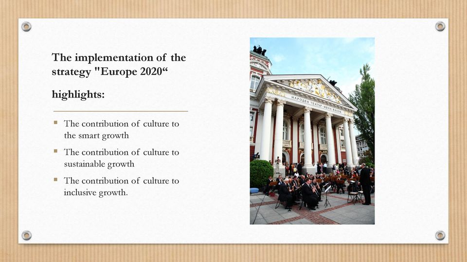 smart growth The contribution of culture to