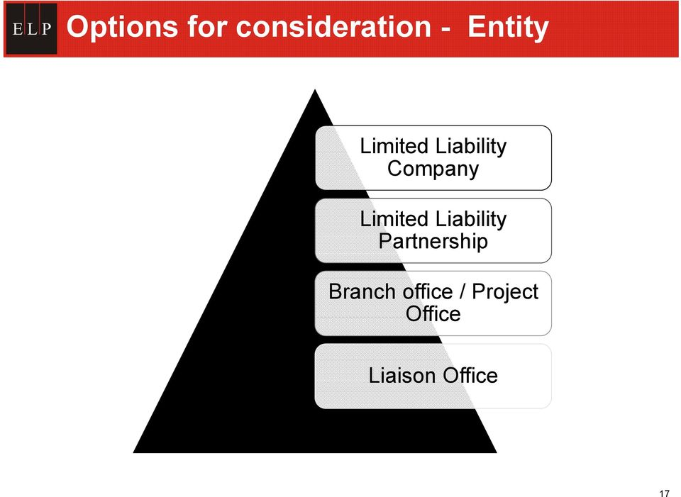 Liability Partnership Branch