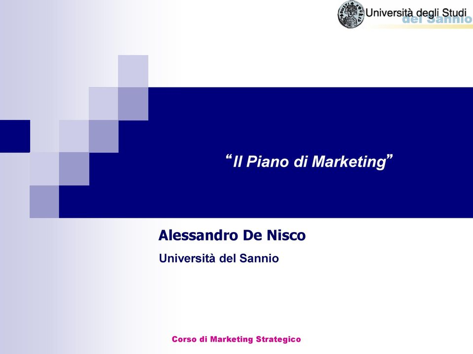 Nisco Università