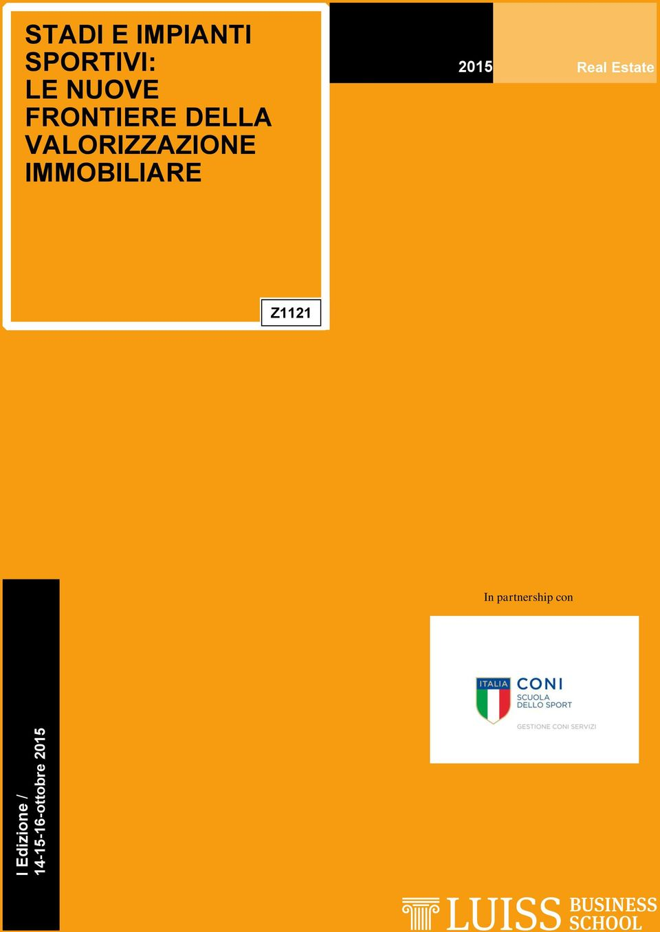 IMMOBILIARE 2015 Real Estate Z1121 In