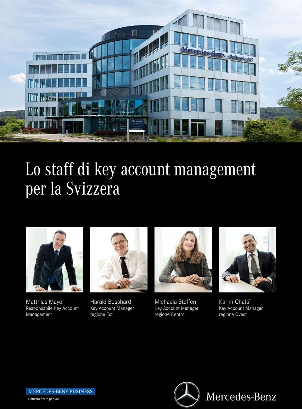 Account Manager regione Est Michaela Steffen Key Account