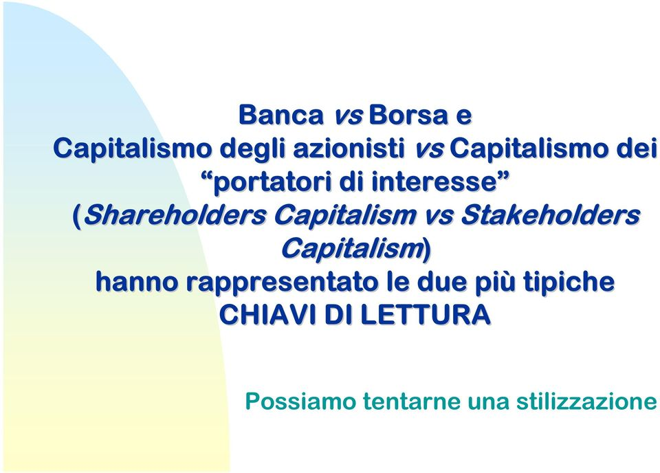 Capitalism vs Stakeholders Capitalism) hanno
