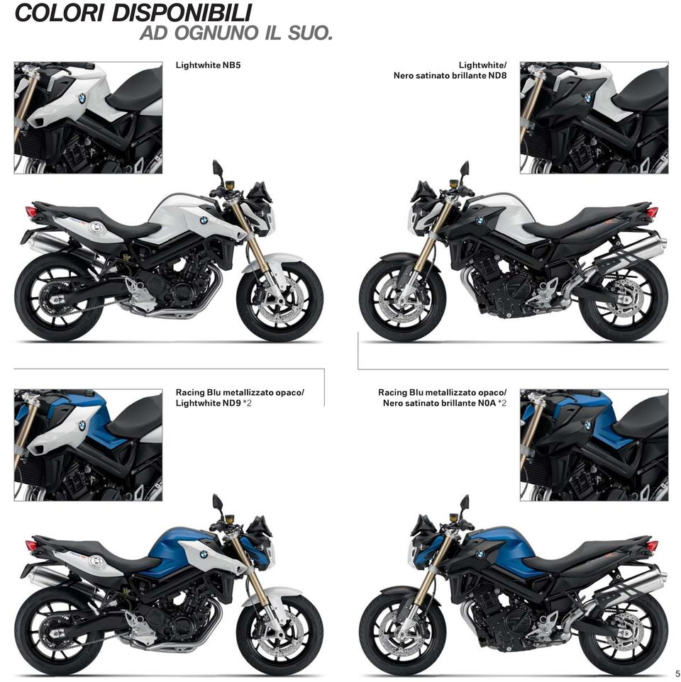 ND8 Racing Blu metallizzato opaco/ Lightwhite ND9