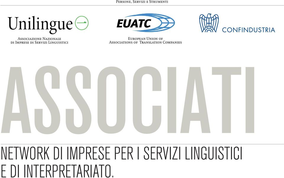 Associations of Translation Companies ASSOCIATI