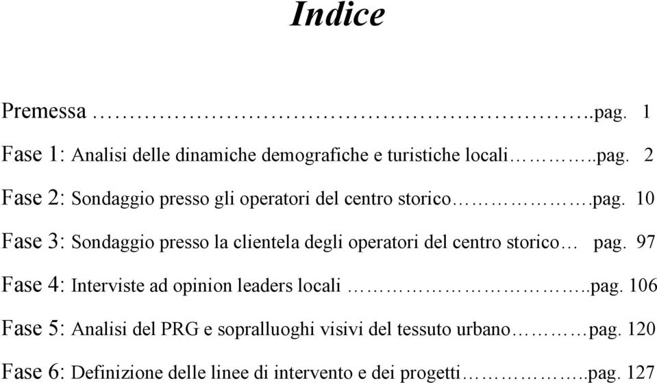 97 Fase 4: Interviste ad opinion leaders locali..pag.