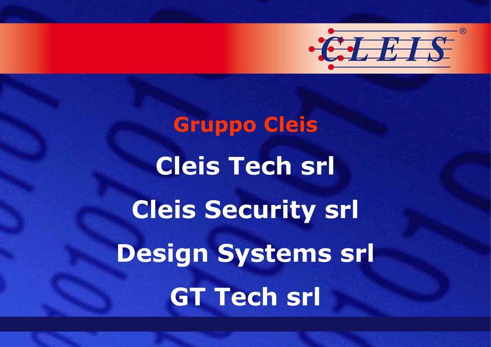 Security srl Design
