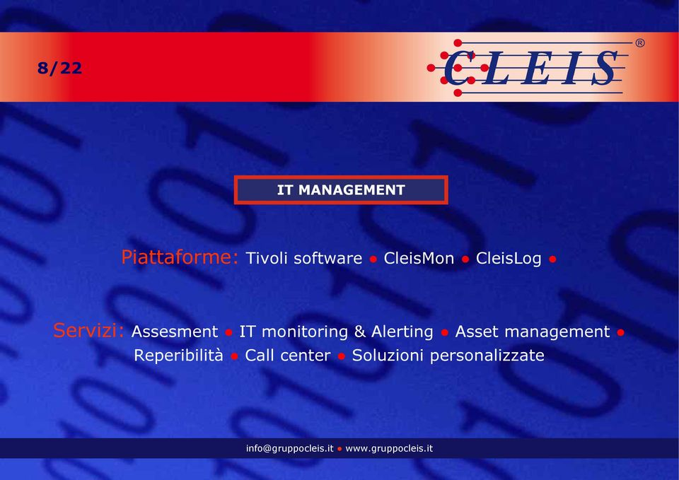 Assesment IT monitoring & Alerting Asset