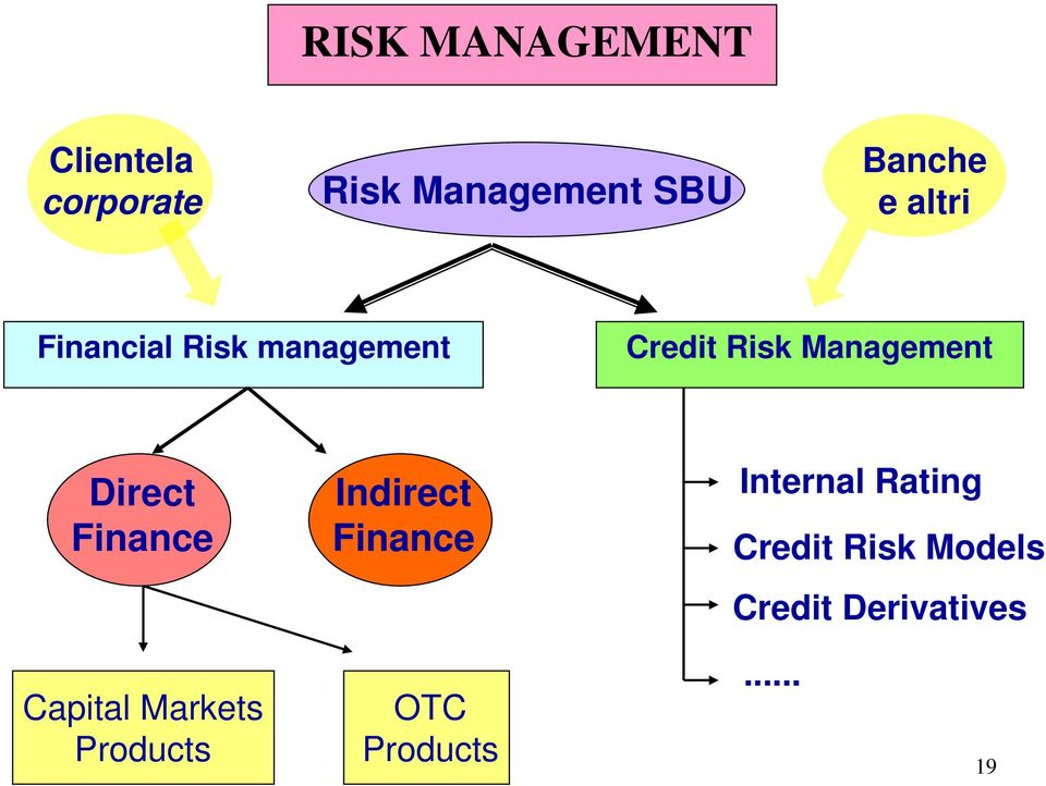 Direct Finance Indirect Finance Internal Rating Credit Risk