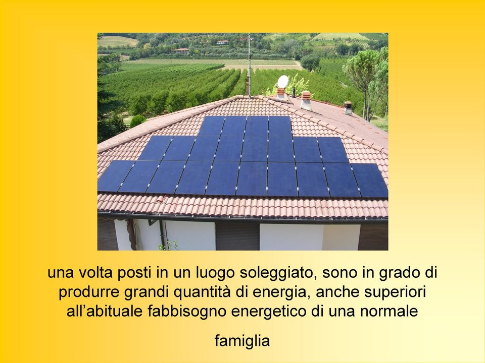 di energia, anche superiori all abituale