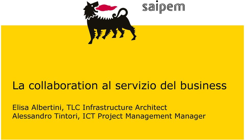 Infrastructure Architect