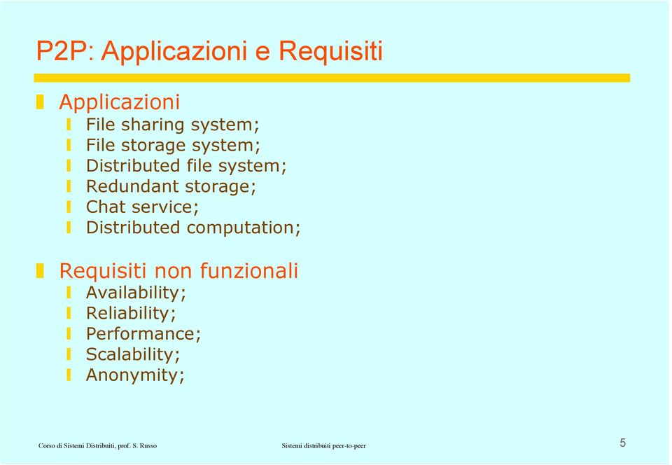 computation; Requisiti non funzionali Availability; Reliability; Performance;