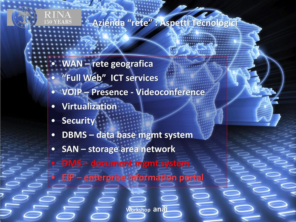 Virtualization Security DBMS data base mgmt system SAN