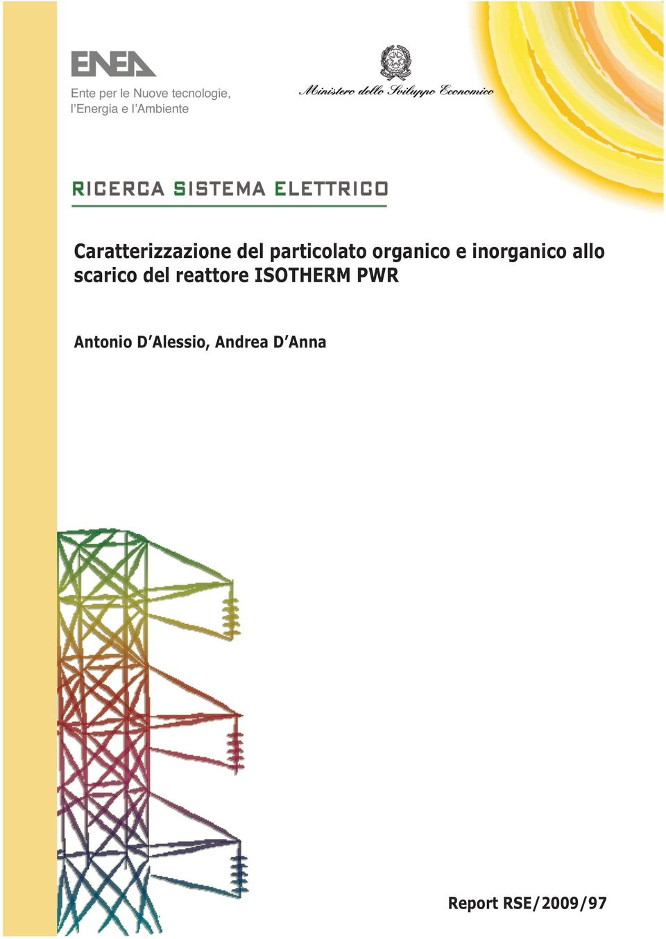 del reattore ISOTHERM PWR Antonio D