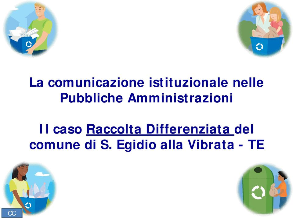 caso Raccolta Differenziata del
