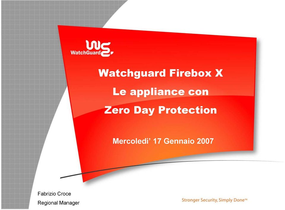 Protection Mercoledi 17
