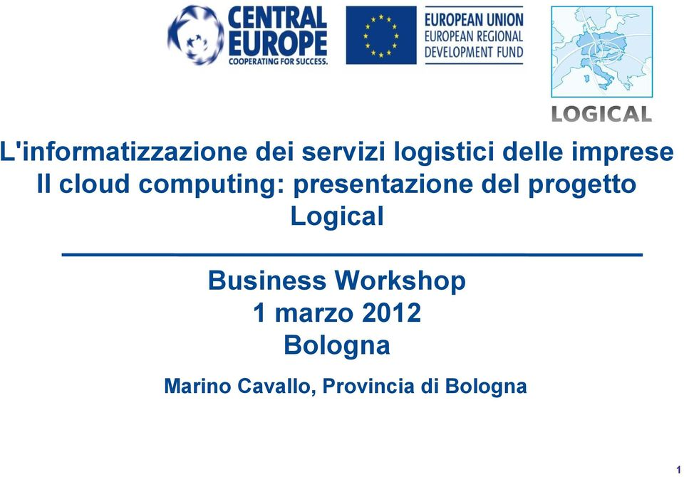 presentazione del progetto Logical Business