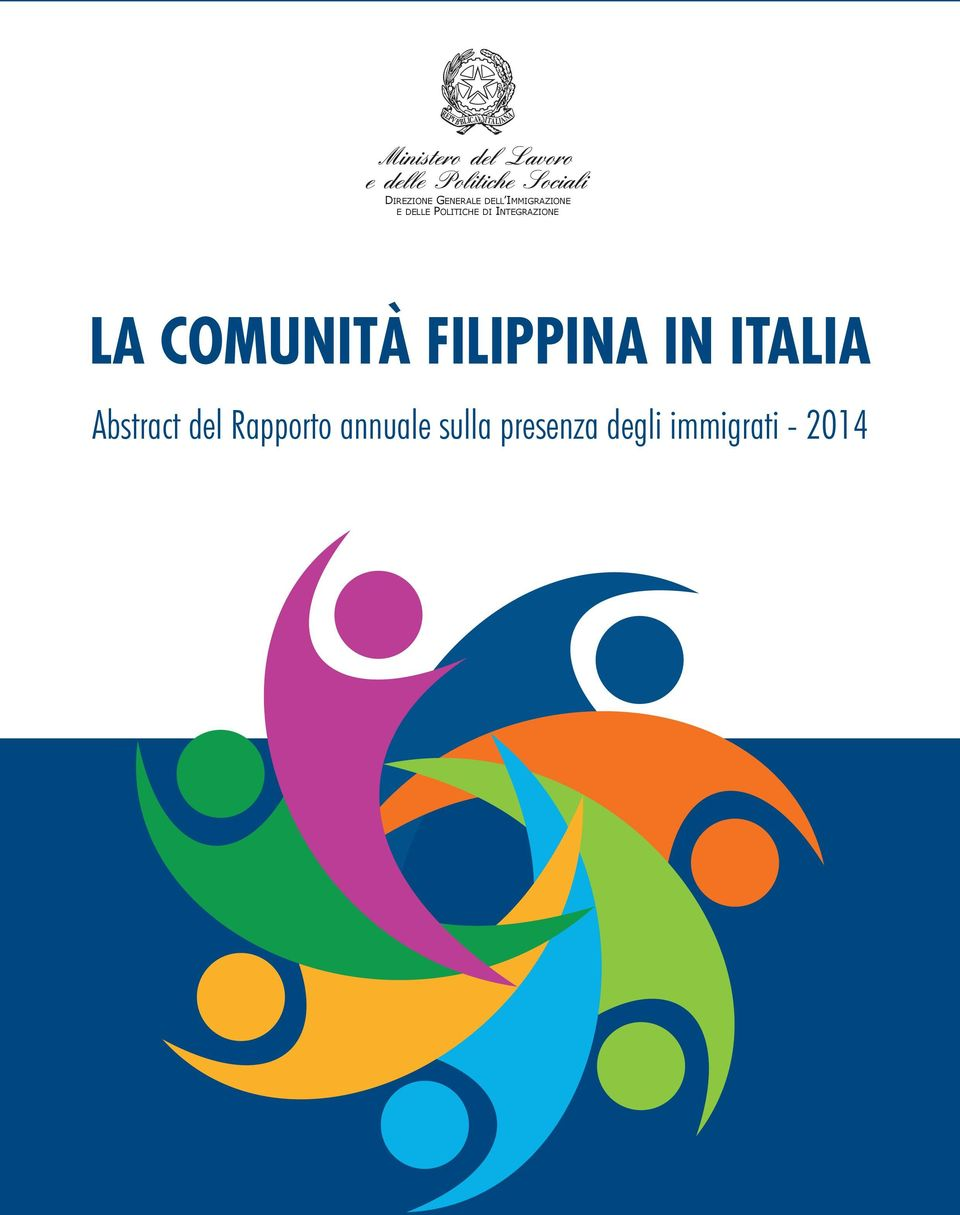 COMUNITÀ FILIPPINA IN ITALIA Abstract del
