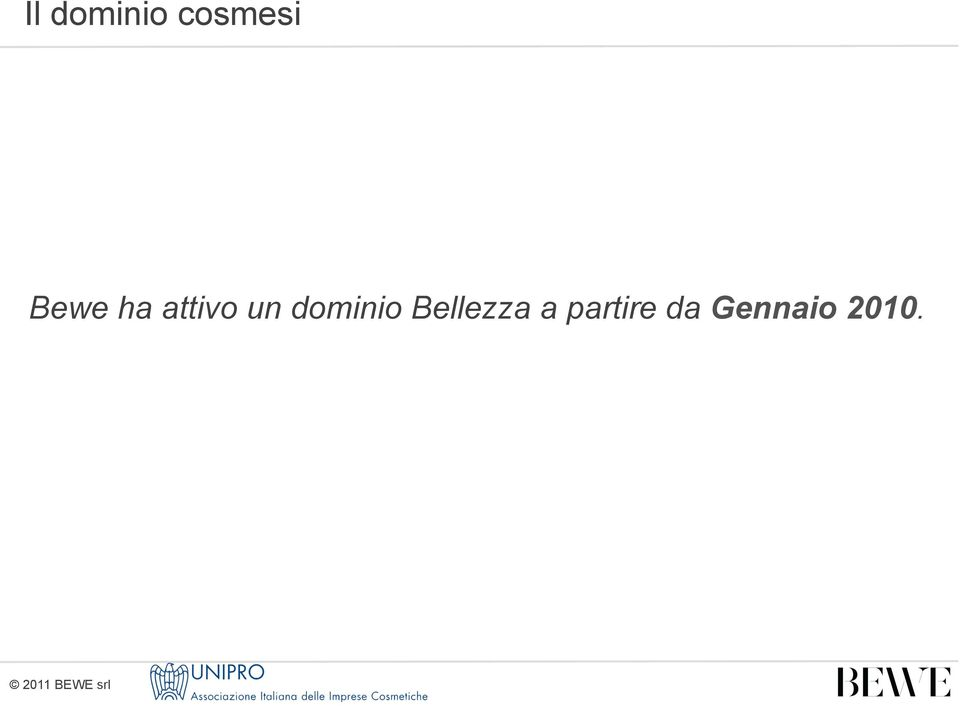 dominio Bellezza a