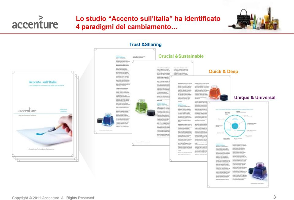 cambiamento Trust &Sharing Crucial