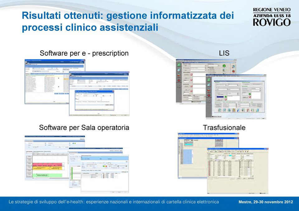 assistenziali Software per e -