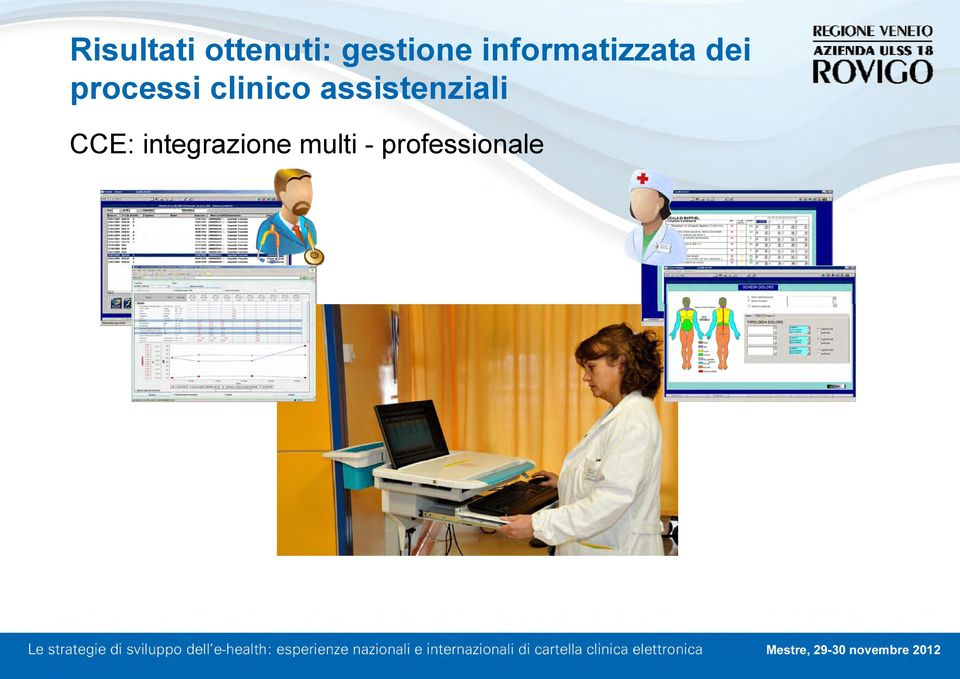clinico assistenziali CCE: