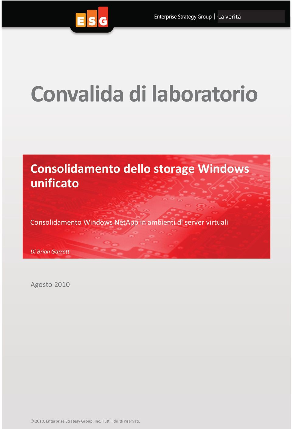 unificato Consolidamento Windows NetApp in