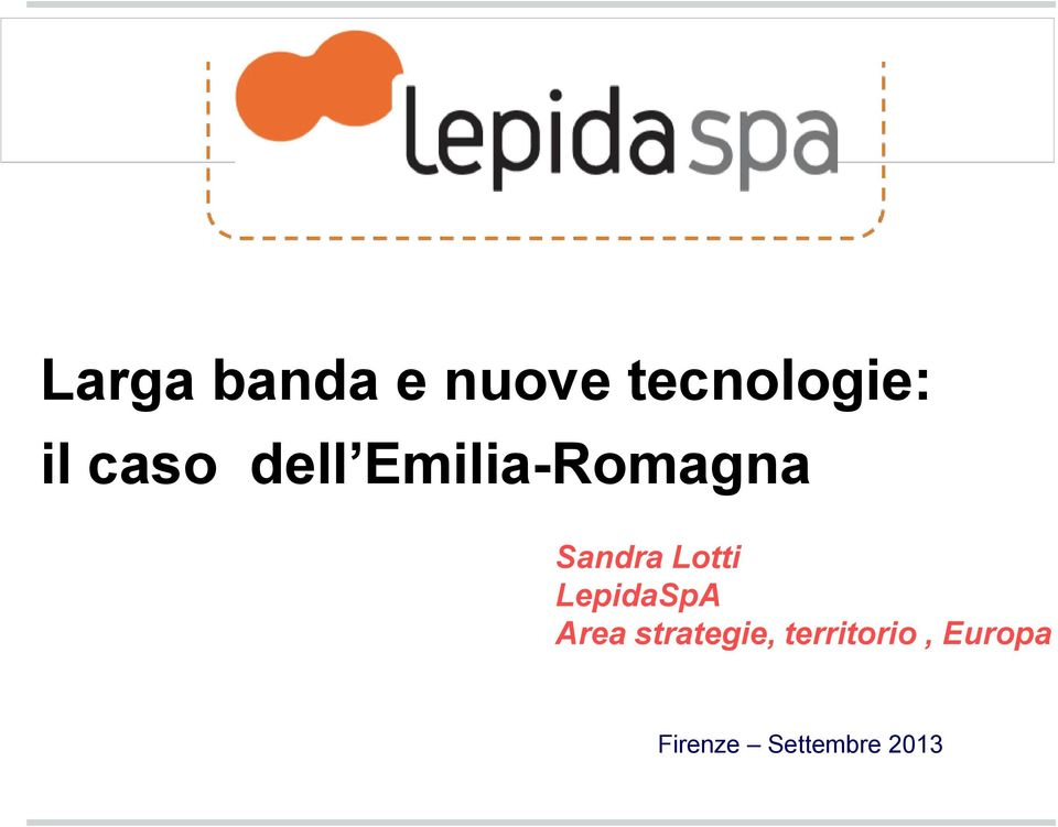 Lotti LepidaSpA Area strategie,