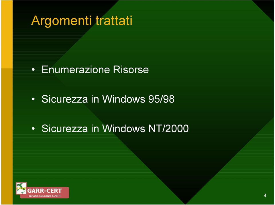 Sicurezza in Windows