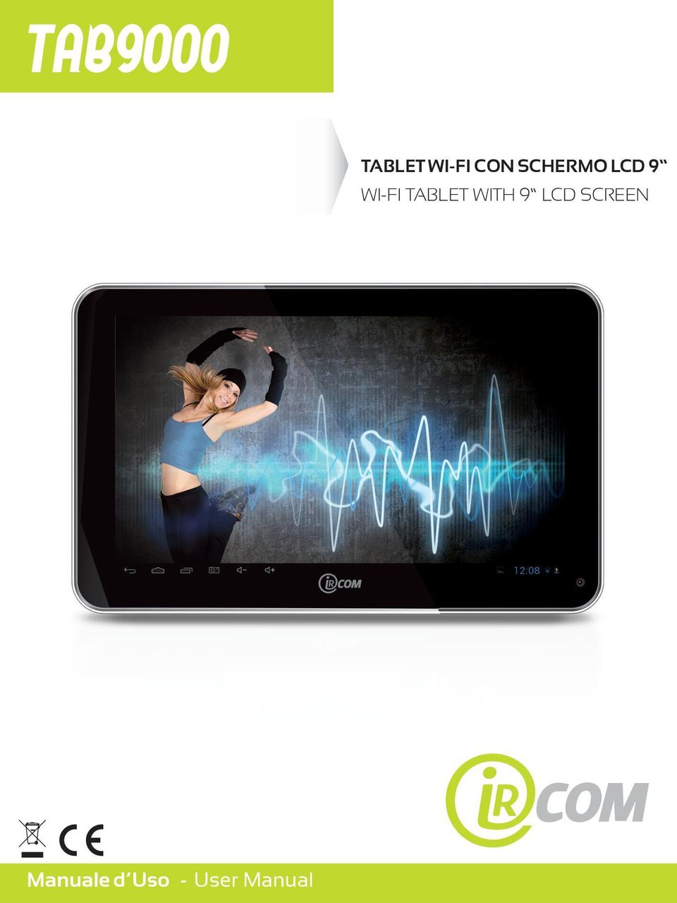 TABLET WITH 9 LCD SCREEN