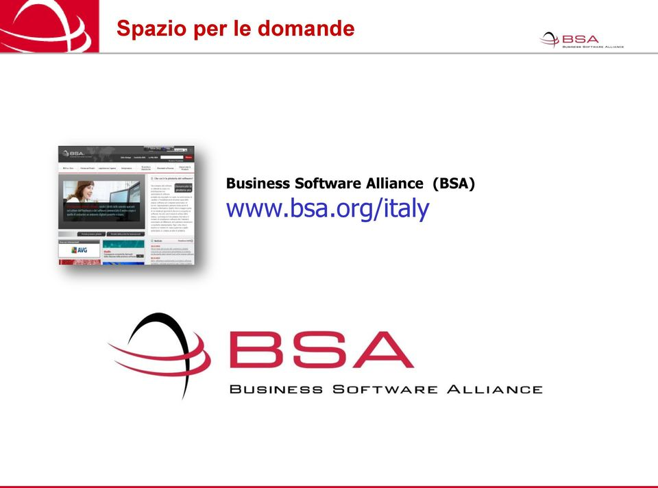 Software Alliance