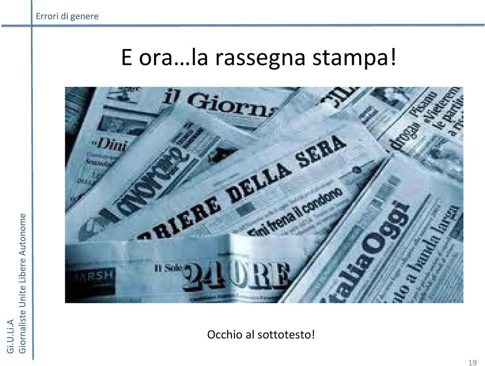 stampa!