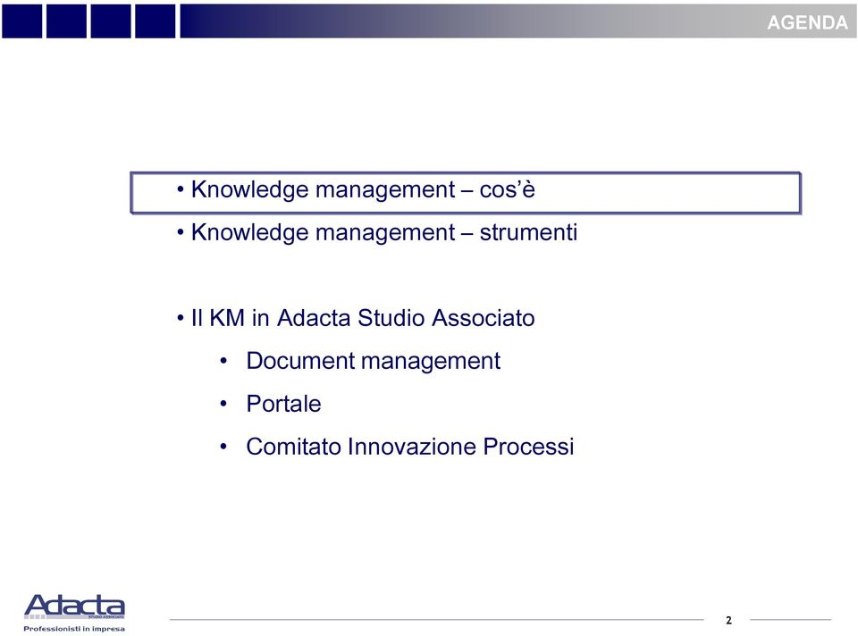 Adacta Studio Associato Document