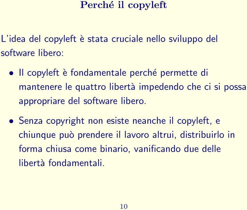 appropriare del software libero.