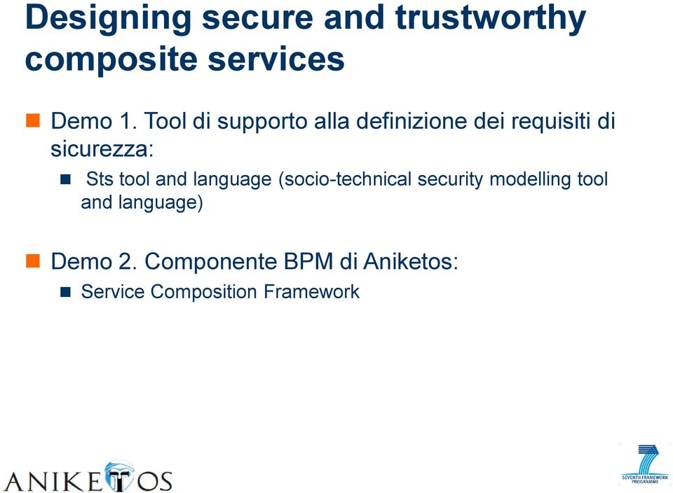 tool and language (socio-technical security modelling tool and